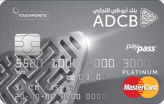ADCB TouchPoints Platinum Credit Card | TouchPoints Platinum Credit Card