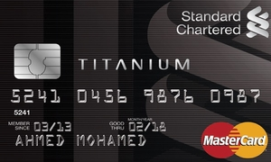 Standard chartered titanium card titanium card reheart Image collections